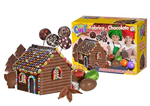 Cefa Chef-21791 Disney Fabrica de Chocolate, Juego de comidi