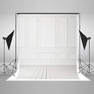 Kate Fotohintergrund für Innendekoration, Weiß, weiß, 5x7ft