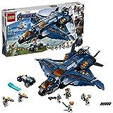 LEGO Marvel Super Heroes Le Quinjet des Avengers Jeu de construction, 8 Ans et Plus, 840 Pices 76126