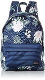 Roxy Sugar Baby Printed-Backpack, Mujer, Mood Indigo ANIMALIA S, One Size