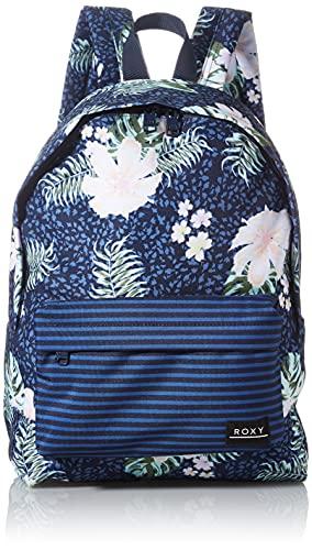 Roxy Sugar Baby Printed Backpack  Mujer  Mood Indigo ANIMALIA  One Size