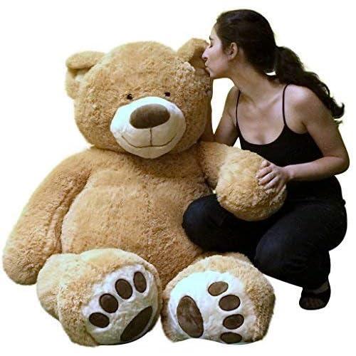 af591289a6fc Big Plush Personalized Giant 5 Foot Teddy Bear Premium Soft