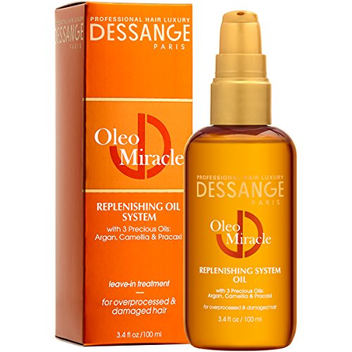 Price comparison product image Dessange Oleo Miracle Replenishing System Oil,  3.4 Fluid Ounce