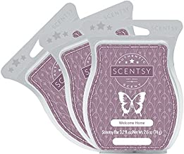 Scentsy, Welcome Home, Scentsy Bar, Wickless Candle Tart Warmer Wax 3.2 Oz Bar, 3-pack (3)