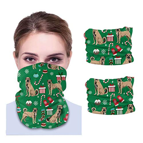 Shepherd Dog Variety face Towel Seamless Neck Gaiter Shield Scarf Bandana Face Mask UV Protection for Motorcycle Cycling Riding Running Headbands