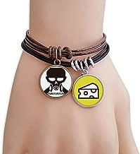 DIYthinker Pollution Biochemical Cyborg Gas Mask Bracelet Rope Sandwich Ornaments Wristband