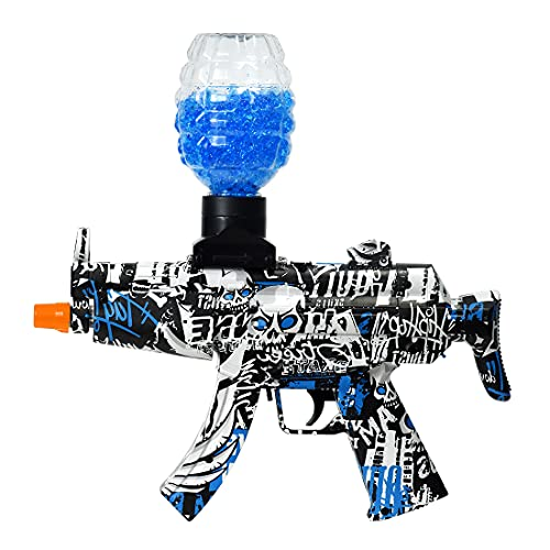 Electric Gel Ball Gun for Kids with Water Gel Beads Toy Gun for Outdoor Activities Shooting Team Game for Boys and Girls Ages 12+(Blue), Green