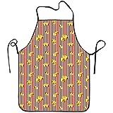 Myrdora Popcorn Cibo per adolescenti Grembiuli da Cuoco Caratteristiche impermeabili Grembiule da Grill