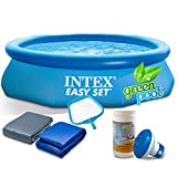 Global Pool Set mit Zubehör Gartenpool 305 x 76 cm Quick Up Pool INTEX 28120