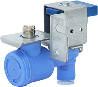 Primeswift 5220JA2009D Refrigerator Water Inlet Valve with Single Solenoid,Replacement for AP5218595 PS3527436 AJU55759303