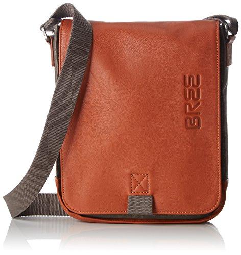 BREE Unisex-Erwachsene PNCH Casual 52 Shoulder Bag Schultertasche, Grau (Grey), 6.5x26x21 cm