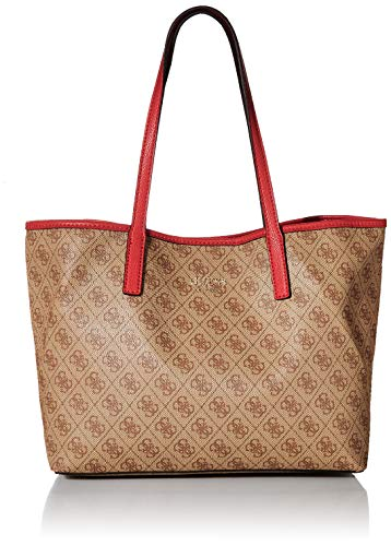 Guess Damen Vikky Tote, Braun (Brown/Bro), 32.5x27x15 centimeters