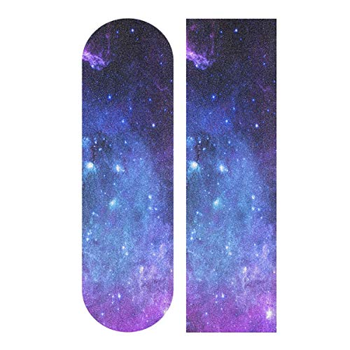 senya Skateboard Grip Tape Longboards Griptape Universe Galaxy Nebula Space Sandpaper for Rollerboard