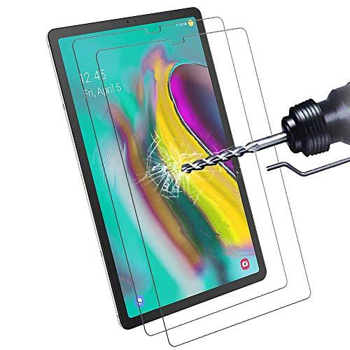 Didisky [ 2 Pezzi Vetro Temperato per Samsung Galaxy Tab S5e   S6 10.5 Pollici 2019 Pellicola Protettiva, (Non per Tab S6 Lite 10.4) Ultra-Clear Tocco Morbido