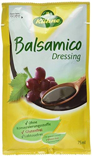 Kühne Balsamico Salat-Dressing für unterwegs, 15er Pack (15 x 75 ml)