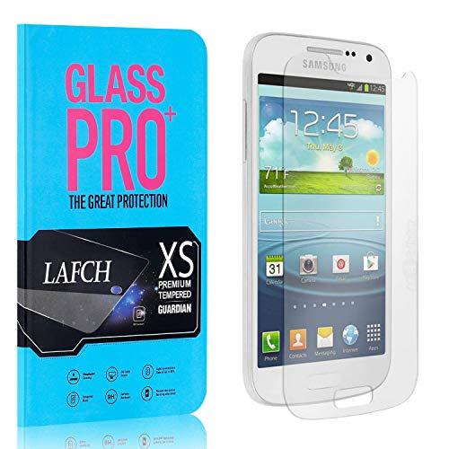 4 Stück Schutzfolie für Samsung Galaxy S4 Mini, LAFCH HD Displayschutzfolie Galaxy S4 Mini, Anti-Fingerabdrücke Gehärtetem Glas Panzerglasfoli