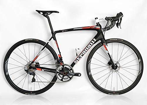 Sale!! Stradalli Full Carbon Ultegra 8000 11 Speed. Hydraulic Disc Brakes. FSA Disc Wheelset San Rem...