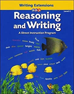 Reasoning and Writing - Writing Extensions Blackline Masters - Level C