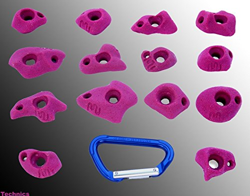 move Technics Klettergriffe XS it-Climbingholds, Farbe:neon pink