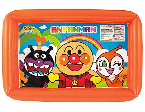アンパンマン 長方形プール ビニールプール 幅約105cm×奥行き約70cm