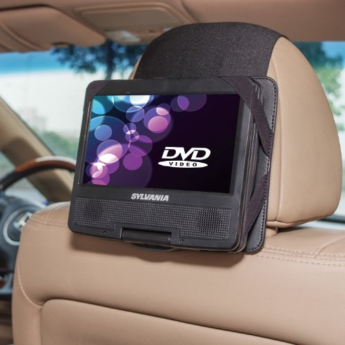TFY Car Headrest Mount for Sylvania SDVD7027-C 7 Inch Portable DVD Player