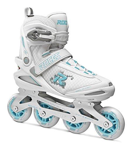 Roces Damen PIC Inline Skates, White/Azure, 38