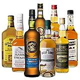 ロッホローモンド オフィシャルボトル & アイリッシュ シングルモルト ウイスキー入り! ウイスキー エキスパート 厳選 8本セット スコッチ バーボン ブレンデッド 詰め合わせ 飲み比べ 長S