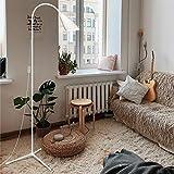 Floor Lamp, Floor Lamp for Living Room Bedrooms, Ebest Torchiere Floor Lamp, LED Reading Floor Lamp with Dimmer (White)