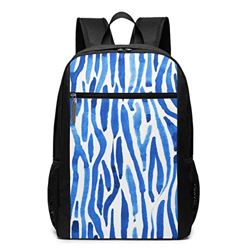 Schulrucksack Indigo Stripes Dye,...