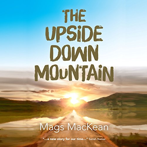The Upside Down Mountain audiobook cover art