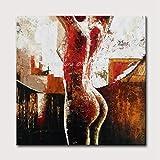 Pintura Al Óleo Pintada A Mano sobre Lienzo,El Sutil Erotismo Sexy Nude Abstract De Pintura Al Óleo De Gran Tamaño Minimalista Moderno Salón Dormitorio Casa Art Deco Hotel Cafe Pinturas Murales,90