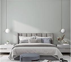 Behang Nordic Effen Kleur Gebroken Wit Moderne Minimalistische Niet-Geweven Behang 3D Reliëf Behang Roll voor Woonkamer Sl...