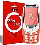ZenGlass Flexible Glas-Folie kompatibel mit Nokia 3310 Panzerfolie I Bildschirm-Schutzfolie 9H I (Kleiner Als Das Gewölbte Bildschirm)