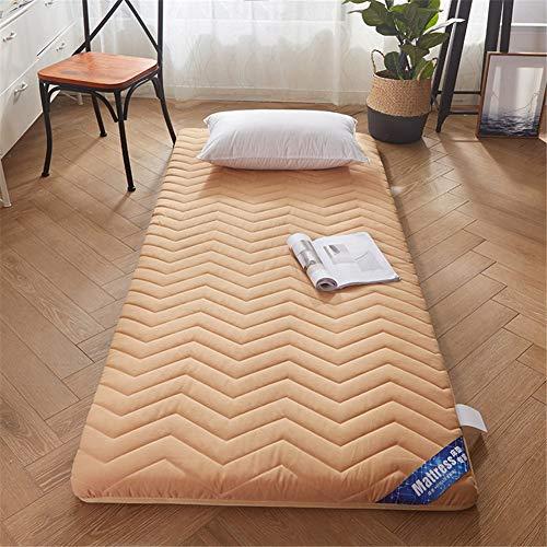 TGBY Plegable Color sólido colchón Suelo Tatami Antideslizante Japonesa Tradicional Colchón De Piso Acolchado Comodo futón Estera para Estudiante Dormitorio EtcB-90x200cm(35x79inch)