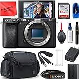 Sony Alpha a6400 Mirrorless Digital Camera Black (Body Only) Bundle,...