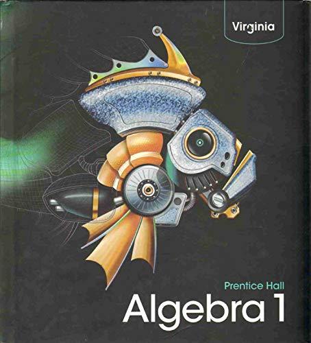 PRENTICE HALL ALGEBRA 1 Virginia Edition