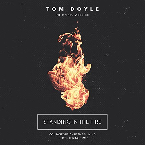 Standing in the Fire audiobook cover art