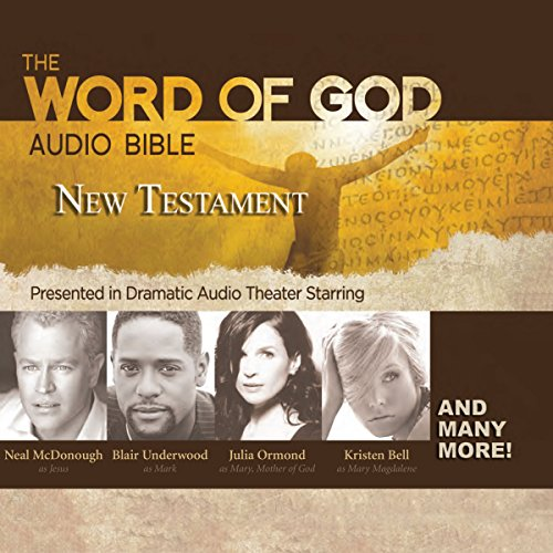 The Word of God Audio Bible: New Testament audiobook cover art