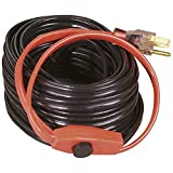 Easy Heat AHB-160 Cold Weather Valve and Pipe Heating Cable, 60-Feet