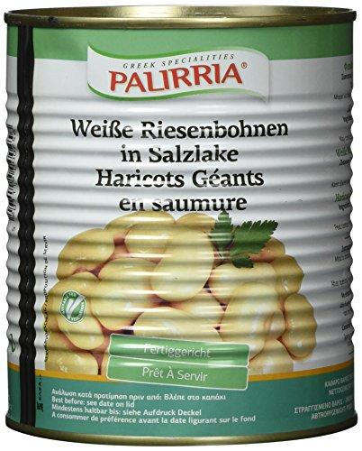 Palirria Weiße Riesenbohnen, 2er Pack (2 x 850 g)
