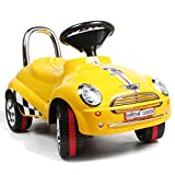 Amazing Tech Depot 3-in-1 Ride On Car Toy Gliding Scooter with Sound & Light (Color May Vary)