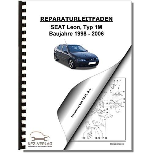 SEAT Leon Typ 1M (98-06) Elektrische Anlage Elektrik Systeme Reparaturanleitung