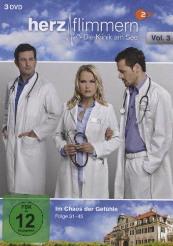 Herzflimmern - Die Klinik Am See Vol.3 (Folgen 31-45) [3 DVDs]