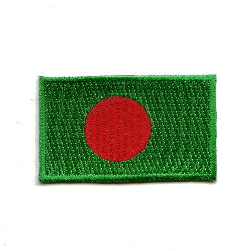 Bangladesch Flag Dhaka Sport Flagge Qualität Patch Aufnäher Aufbügler K-23