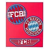 FC Bayern München, set di 3 toppe per tifosi
