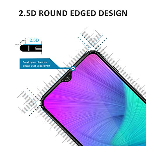 ACETEND 2 Pack Screen Protector for OnePlus 6T, OnePlus 6T Tempered Glass Protector - 9H Hardness, Crystal Clear and Scratch Resist