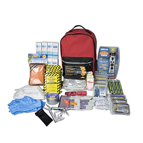 Our #4 Pick is the Ready America 70385 Deluxe Emergency Kit