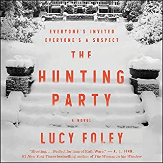 The Hunting Party audiobook cover art