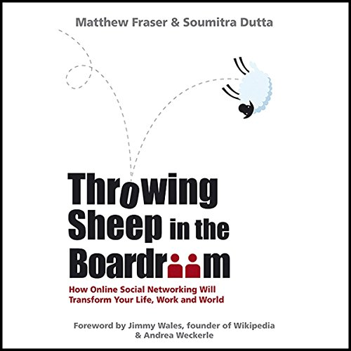 Throwing Sheep in the Boardroom audiobook cover art