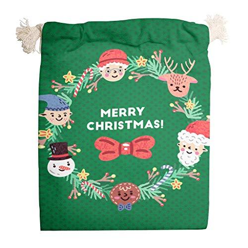 Vrnceit Christmas Tree New Year stofdicht koord opbergdoos buiten reistas met koordsluiting geschenktasjes